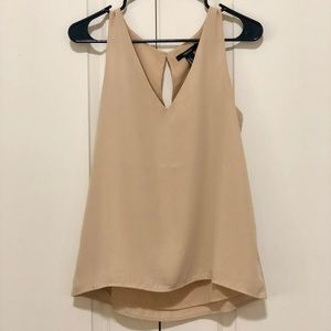 Forever 21 Chiffon Tank Top